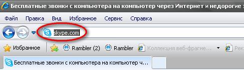Skype (скайп).