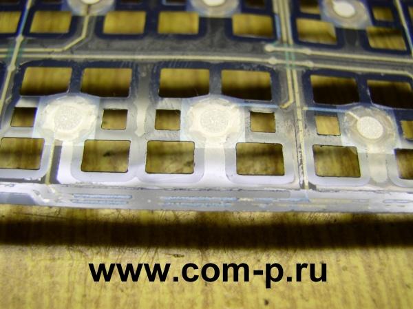 Матрица клавиатуры с поврежденными проводниками