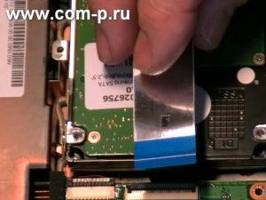Asus Eee PC. Установка жесткого диска.