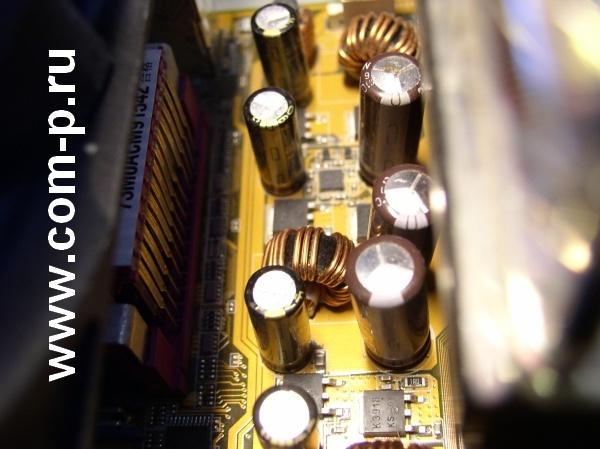 Неисправные электролитические конденсаторы.