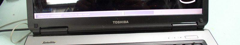 Toshiba Satellite L40-170. Разборка ноутбука.