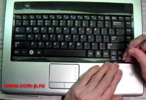 Разборка ноутбука Samsung R503