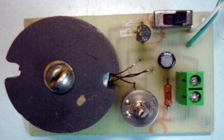 Прибор поиска места обрыва провода